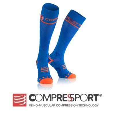 COMPRESSPORT Skarpety kompresyjne Full Socks V2.1